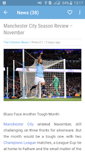 Manchester City News - The Citizens for PC-Windows 7,8,10 and Mac apk screenshot 5