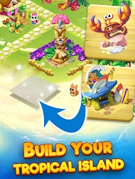 Tropicats: Free Match 3 on a Cats Tropical Island APK screenshot thumbnail 19