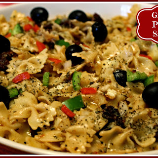 Greek Pasta Salad!