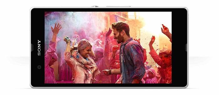 Sony Xperia Z có Camera 13Mp cho chất lượng ảnh sắc nét