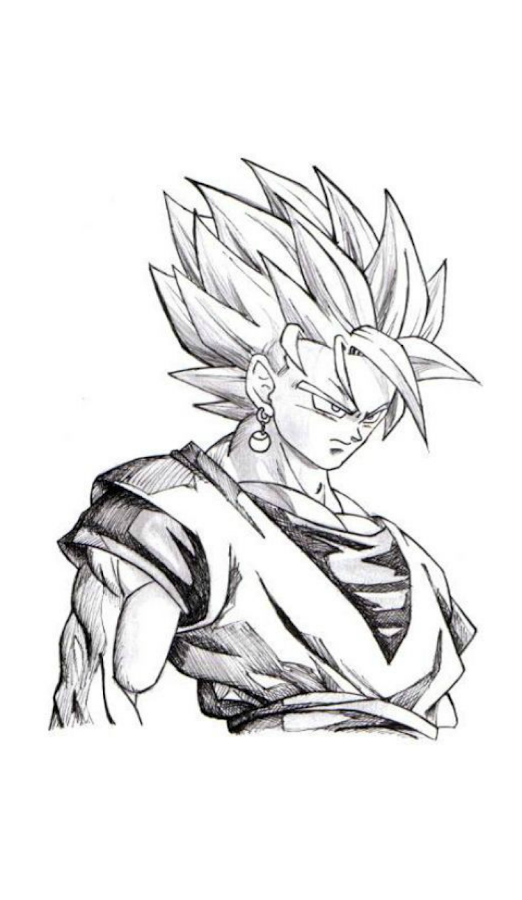 How to Draw DBZ Best Characters  Android Apps on Google Play