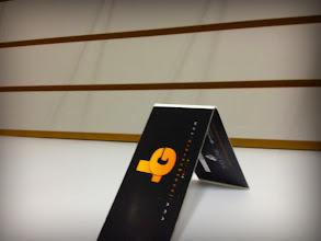 Photo: Mi tarjeta personal IRL desde otro punto de view.