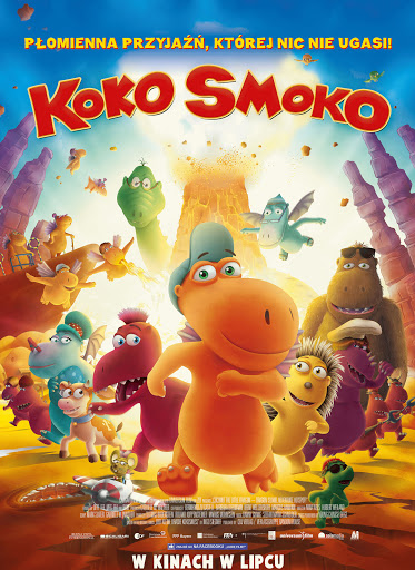 Polski plakat filmu 'Koko Smoko'