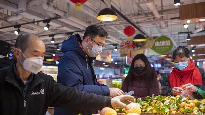 El mercado chino de Wuhan ha sido considerado siempre origen del brote.
