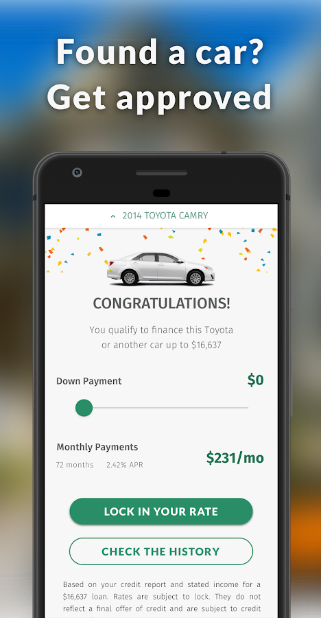 Car Loans For All Credit Types Android Apps on Google Play