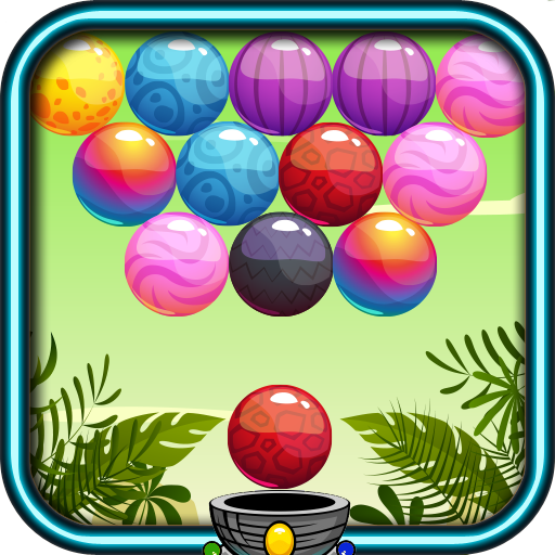 Jungle Bubble Shooter 休閒 LOGO-玩APPs