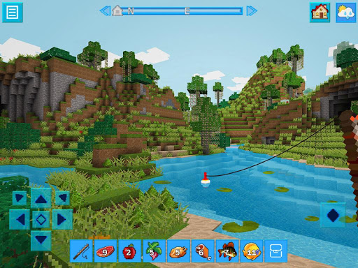 AdventureCraft: 3D Block Building & Survival Craft  5