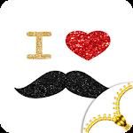 Mustache Lock Screen
