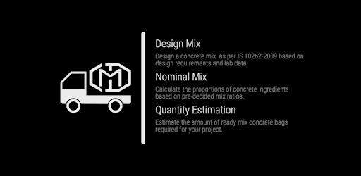 Concrete Mix Design & Concrete Calculator - Apps on Google Play