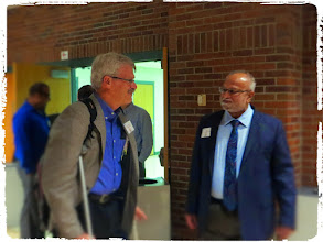 Photo: Dr. Rosenberger and Dr. Raghavan