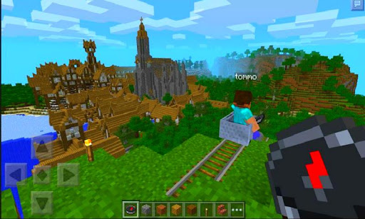 Roller Coaster Game Minecraft