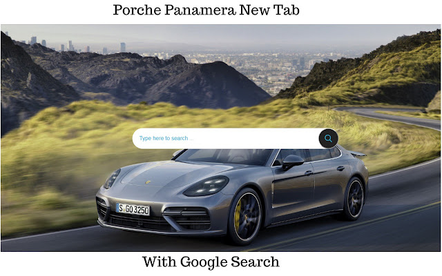 Porche Panamera Cars Themes