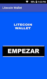 Litecoin Wallet - náhled