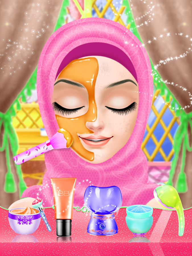 Play Wedding Dress Up And Make Up : Hijab Wedding Makeup Dress Up - Android Apps on Google Play