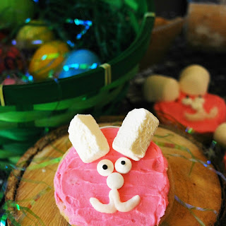 Easter Bunny Sugar Cookies (Gluten, dairy, egg, soy, peanut & tree nut free; vegan option).
