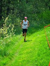 Photo: En av flera cyklister i Kolmården MTB som älskar både träning och tävling.
