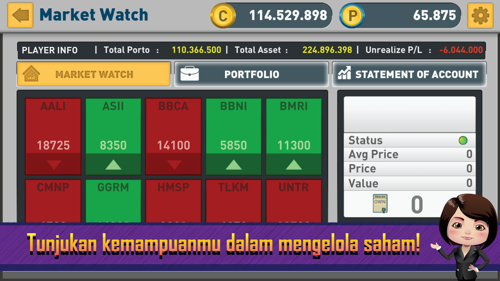 Nabung Saham GO- screenshot