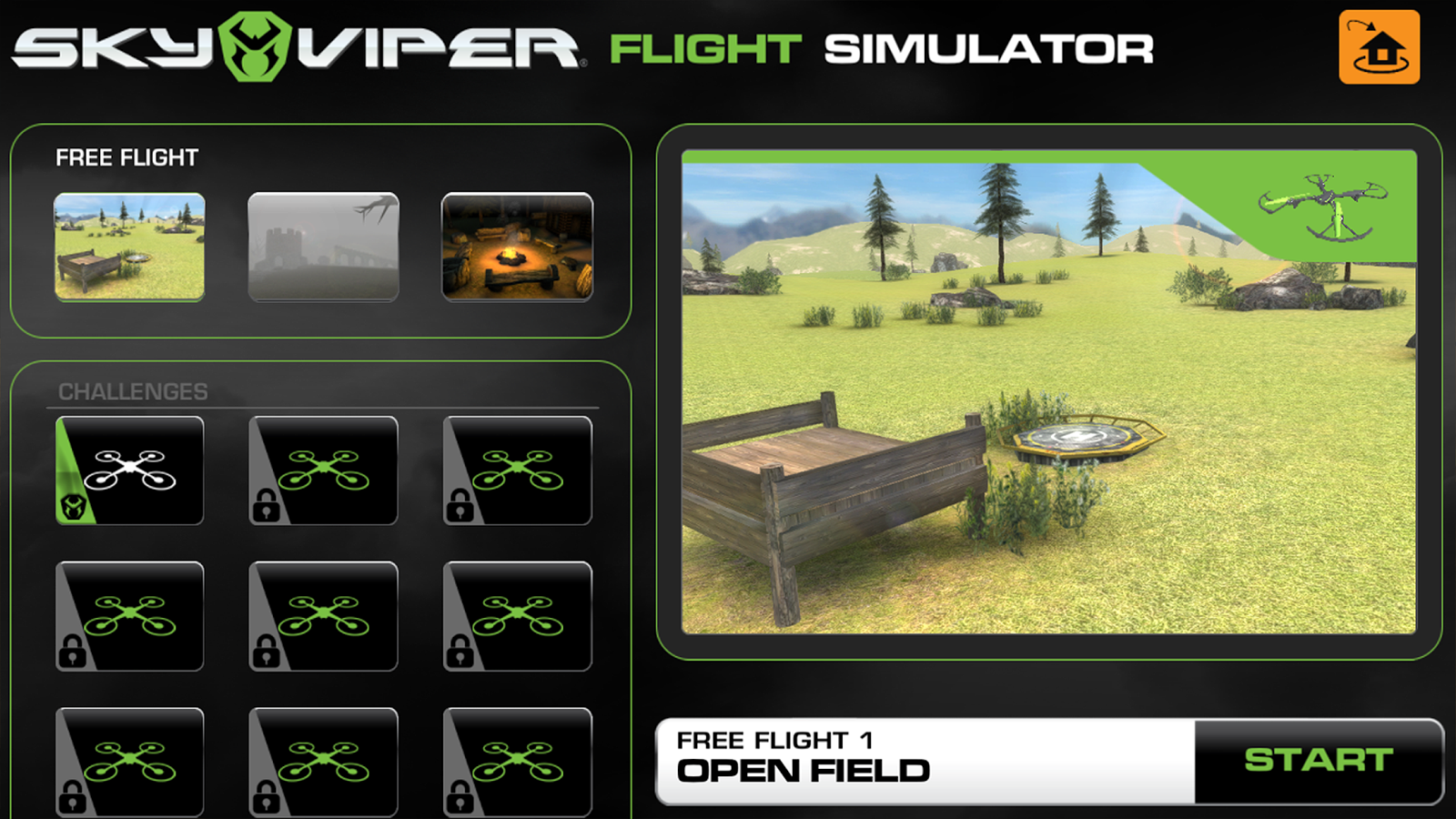 Sky Viper Flight Simulator- screenshot