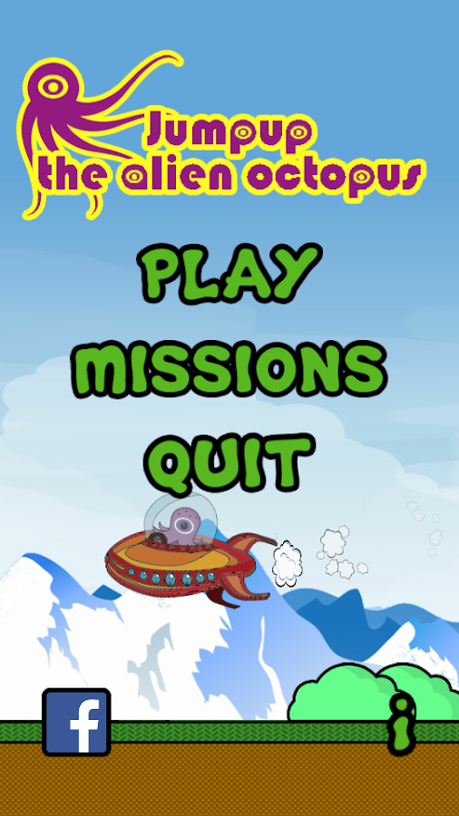 Jump Up: The alien octopus- screenshot