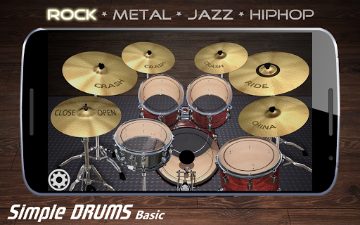 Simple Drums Basic - Virtual Drum Set 1.2.9 screenshots 4