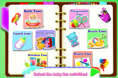 Babysitter Baby Care Fun Job * Babysitting for Kid Screenshot