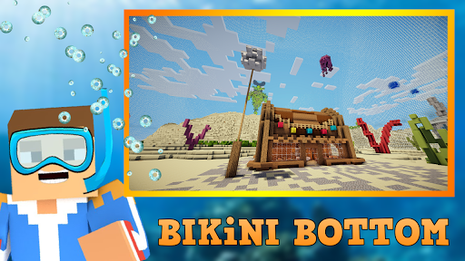 Craft Bikini Bottom - Underwater Building 13.0 APK MOD screenshots 1