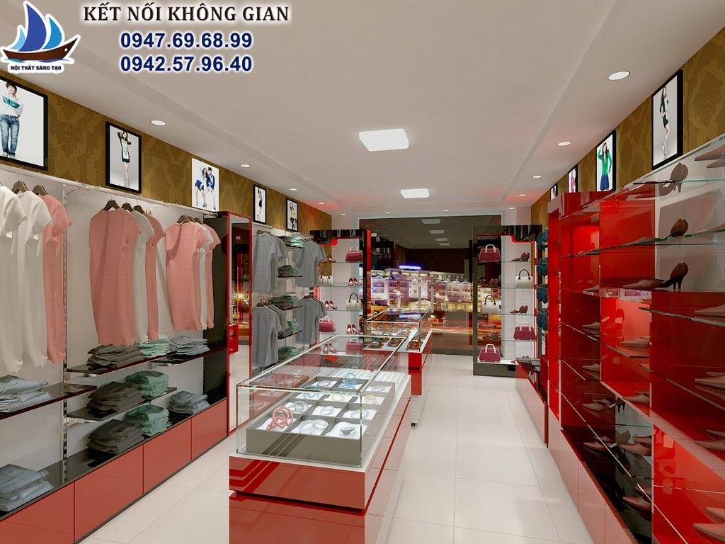 thiết kế shop thời trang hiện đại 5