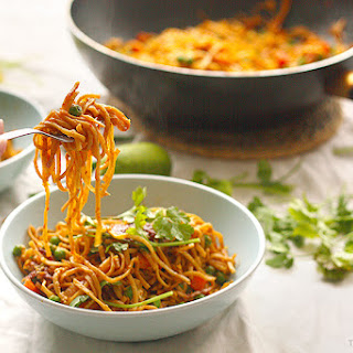 Indonesian Style Fried Noodles.