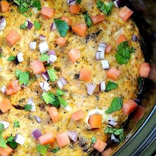 Slow Cooker Mexican Breakfast Casserole Recipe