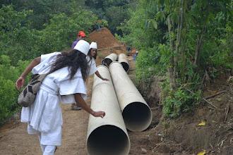 Photo: Los Arhuacos visitan la MCH de Palmor