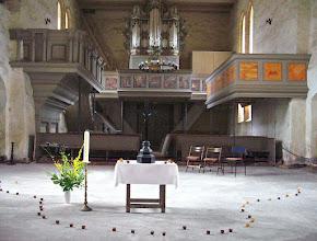 Photo: St. Laurentiuskirche in Cammin bei Rostock.  Da das vermehrte Auftreten von Sternschnuppen (Perseiden) am Tag des Märtyrers Laurentius am 10. August zu beobachten ist, der im Jahre 258 das Martyrium auf einem glühenden Rost erlitt, werden diese als Laurentiustränen oder Tränen des Laurentius genannt.   Familie van Amsberg