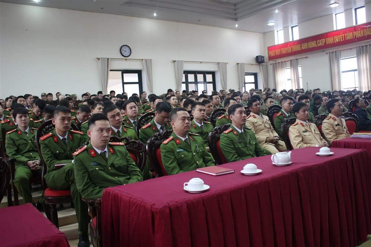 Các lực lượng tham gia buổi tập huấn
