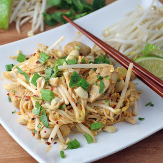 Keto Chicken Pad Thai.