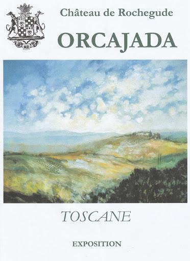 Benjamin orcajada artiste peintre peint la toscane
