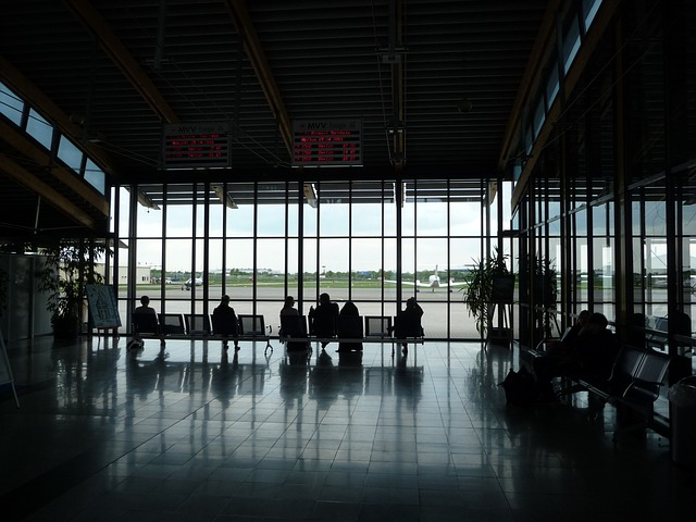 airport departure hall