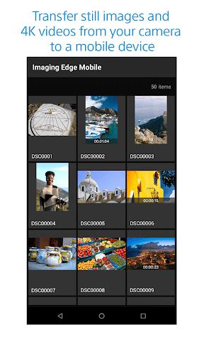 Imaging Edge Mobile 7.4.0 Screenshots 1