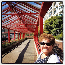 Photo: Summer in North Vancouver #intercer #vancouver #britishcolumbia #canada #summer #bridge #red #city #town #passage #alley #sunny #beautiful #woman #life #smile - via Instagram, http://ift.tt/1zTPYj9