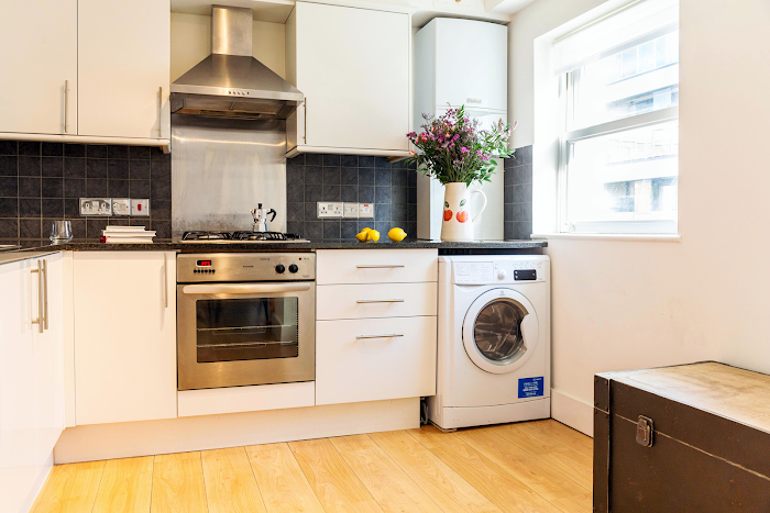 Kitchen at Aldgate apartment