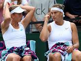 Mertens en Sabalenka halen het pas na drie sets van Van Uytvanck en Lister in dubbel