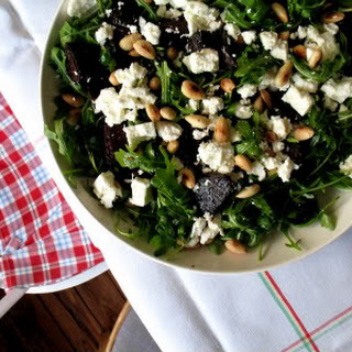 Roasted Beet and Rocket Salad