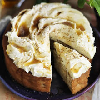 Apple Cake With Burnt Butter Frosting.