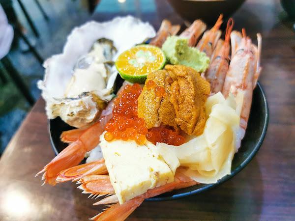 揚日式料理(生魚片蓋飯),網友大推超威的生魚丼飯,客製化丼飯,中和巷弄美食,無法訂位