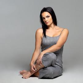 Simple by Cory Loomis - People Fashion ( studio, beautiful, woman, beauty, lady, model, simple )
