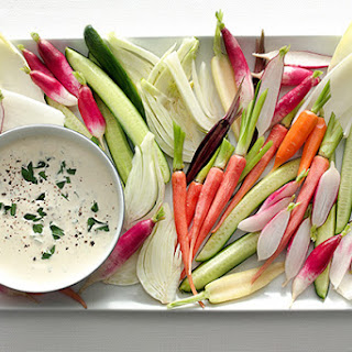 Crudités Vegetables with Remoulade Sauce