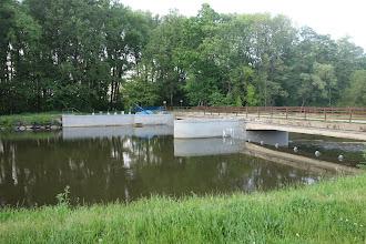 Photo: most přes řeku Moravici