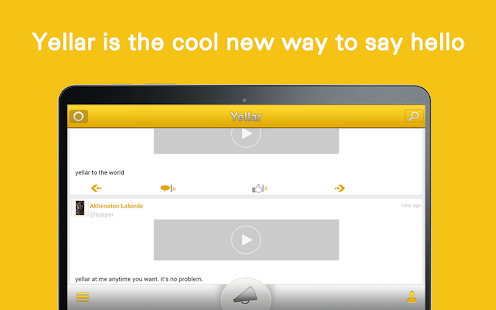 Yellar screenshot