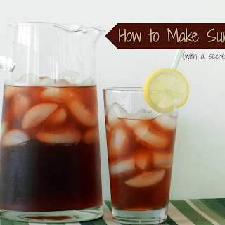 How To Make Sun Tea (with a secret ingredient)