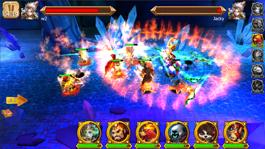 Battle of Legendary 3D Heroes MOD (Rage Skill/Attack Speed) 3