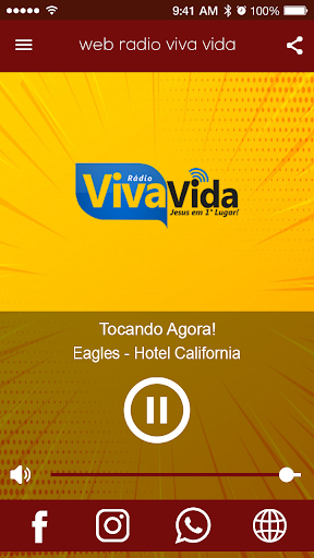 Rádio Viva Vida screenshot 1