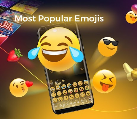 Cheetah Keyboard - Themes&GIF, Emoji, 3D Keyboard - screenshot